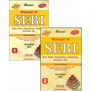 Bharat's Manual of SEBI Act, Rules, Regulations, Guidelines, Circulars by Ravi & Mahesh Puliani